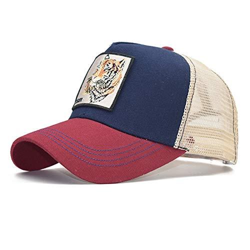 sdssup Gorra de Malla de algodón Gorra de béisbol para Mujer Gorra para Hombre 19 Ajustable