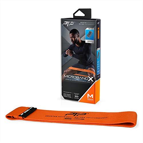 PTP Unisex– Erwachsene Microband Fitness Bänder, orange, OS