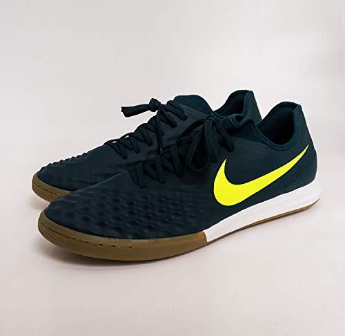 Nike Magistax Finale II IC Zapatos de Fútbol Sala para Hombre Turquesa Amarillo