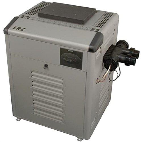 Read About Zodiac Legacy LRZ175ENN Digital Control 175K BTU Natural Gas Polymer Header Heater with Cupro-Nickel Tubes