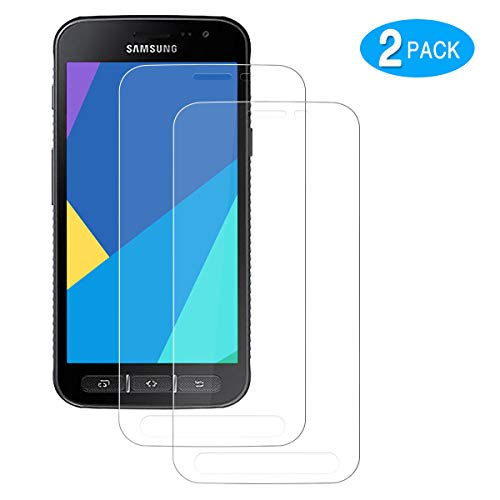 CHENXX [2 Stück Panzerglas für Samsung Galaxy Xcover 4 / Xcover 4s, Schutzfolie 2.5D [HD Clear] [9H Festigkeit] [Anti-Kratzen] [Blasenfrei] Bildschirmschutzfolie Folie