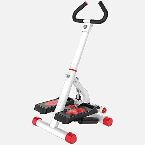 FUFU Maquinas de fitness para paso, máquina de paso a paso con mango de barra de entrenamiento con bandas de resistencia, resistente y segura y cómodos pedales de pie para el hogar Fitnes