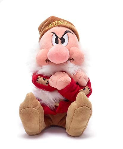 Offizielles Disney Schneewittchen und die Sieben Zwerge Grump 20cm Soft Bean Plüsch