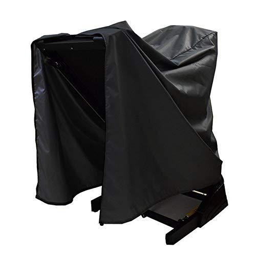 Wuhanyimang Cubierta para cinta de correr, impermeable y a prueba de polvo, cubierta protectora para equipo de fitness para uso en interiores o exteriores (negro, 91 x 91 x 152 cm)