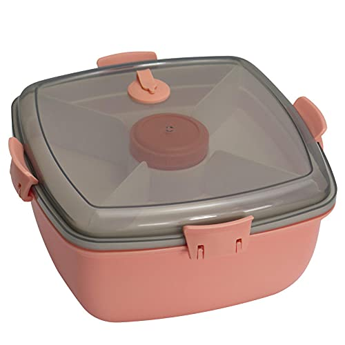 Fiambrera Para NiñOs De Secundaria, Caja Bento Con Compartimentos Variables