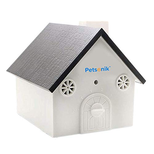 No Bark Bird House for Dogs | Anti Bark Bird House That Makes Dogs Stop Barking | Free E-Book |Outdoor Bark Box | Stop Dogs from Barking Device Ultrasonic Birdhouse forDog Deterrent Control Devices