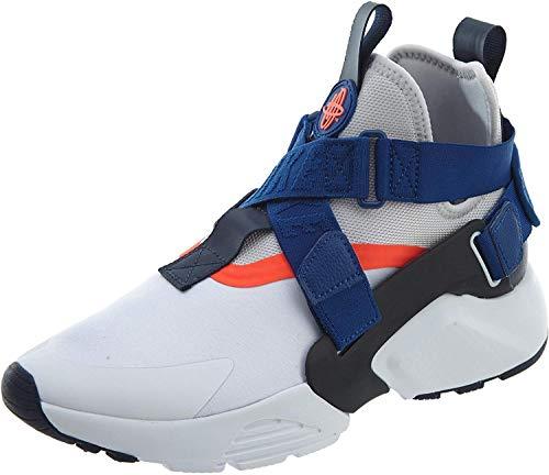 Nike AIR Huarache City Mens Shoes Size 7 White/Blue/Orange