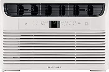 FRIGIDAIRE Energy Star 6,000 BTU 115V Window-Mounted Mini-Compact Air Conditioner with Full-Function Remote Control White
