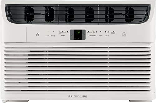 Frigidaire Energy Star 6,000 BTU 115V Window-Mounted Compact Air Conditioner with Full-Function...
