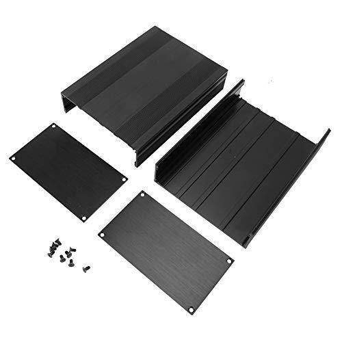 Caja de proyecto electrónico Caja de enfriamiento de aluminio Caja de placa de circuito impreso Caja de proyecto electrónico Bo para productos electrónicos