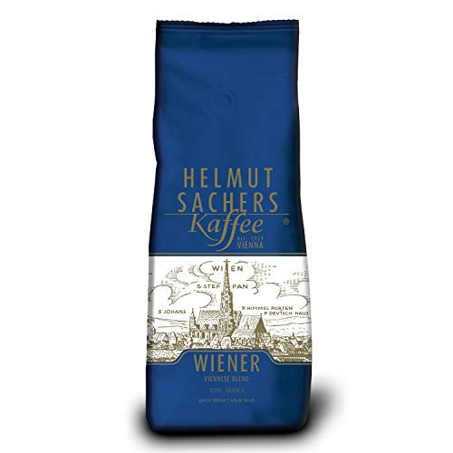 Helmut Sachers Kaffee Wiener Mischung, ganze Bohne, 500 g 1228