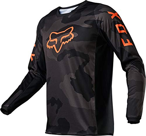 Fox Racing 180 Trev Youth Off-Road Motorcycle Jersey - Black/Camo/Small
