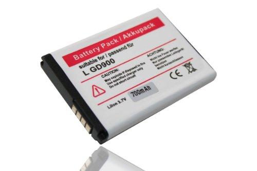 Batterie LI-ION compatible pour LG GD900 GD 900 Crystal / BL40 BL 40 Chocolate
