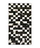 Zerimar Alfombra Patchwork Piel de Vaca   Medidas: 140x70 cm   Alfombra Salón   Alfombra Decoracion   Alfombra Dormitorio   Alfombra Natural   Alfombra Vaca