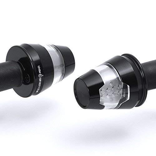 Motorrad Universal Blinker Lenkerendenblinker Conic LED für Lenker 22 u. 25 mm