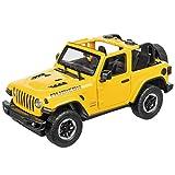 Mondo Motors, JEEP WRANGLER JL, Modello in Scala 1: 14, fino a 10 km/h di Velocità, Auto Giocattolo per Bambini 63607