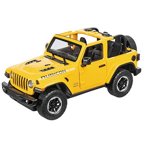 Mondo Motors Jeep Wrangler JL, Modelo a Escala 1:14, hasta 10 km/h de Velocidad, Coche de Juguete para niños 63607
