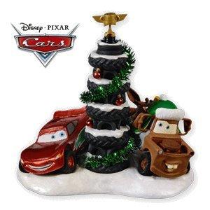 Hallmark Piston Cup Tire Tree Disney Cars 2010 Ornament