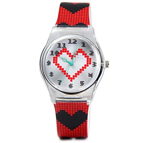 Studentin Uhren Kreative Individualität Mode Freizeit Mädchen Uhren, Gules