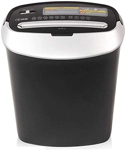 Lowest Prices! Mopoq Document Shredder with pullout Basket, Security Class P4, Paper Shredder for up...