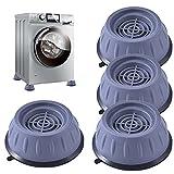 Mr.baby 4 Pezzi Ammortizzatore Vibrazione per Lavatrice,Piedini per rondelle anti vibrazione,Piedini per Lavatrice,4pcs Piedini per rondelle anti vibrazione per Lavatrice e Asciugatrice,4 cm