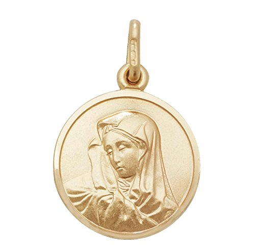JQS Unisex Mujer oro 375 oro amarillo 9 quilates (375)