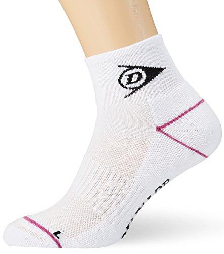 Dunlop Sport Performance Sock 1er Pack Calcetines, Hombre, Blanco, 37-42