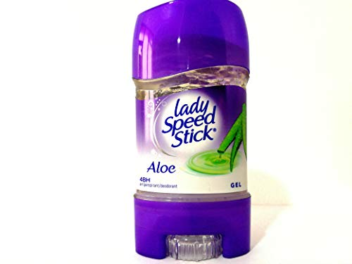 Pack of 3 Lady Speed Stick Gel Aloe, 48H Anti-Perspirant Deodorant Gel