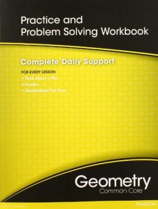 By Not Available ( Author ) [ High School Math Common-Core Geometry Practice/Problem Solving Workbook Grade 9/10 By Apr-2011 Paperback