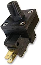 PSF103-9061-905 - Pressure Switch, Field Adjustable, 1/8-27 NPT, 4 psi, 15 psi, SPDT, Panel / Chassis, Quick Connect (PSF103-9061-905) (Pack of 2)