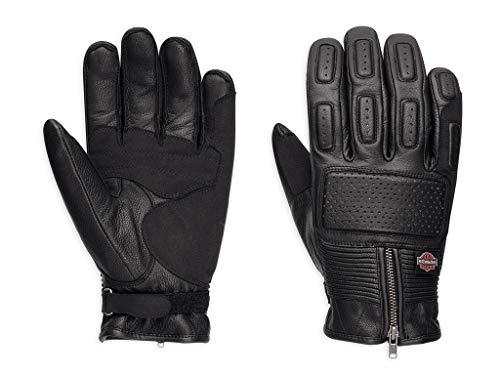 HARLEY-DAVIDSON Miler Leder Handschuhe, 98357-17EM, L
