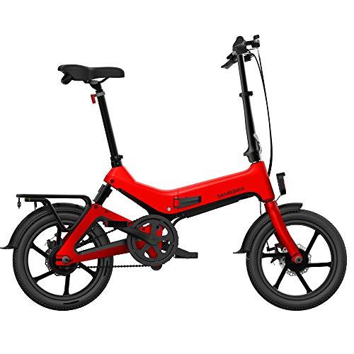 Harwls Elektrische vouwfiets, draagbaar, verstelbaar, voor fietsen en outdoor