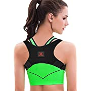 Posture Corrector Brace-Eoney Back Corrector for Men and Women-Effective and Comfortable Adjustable Back Shoulder Clavicle Support Back & Neck Pain Relief