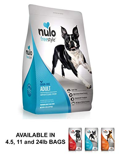 Nulo Grain Free Dog Food: All Natural Adult Dry Pet Food For Large And Small Breed Dogs (Salmon,...