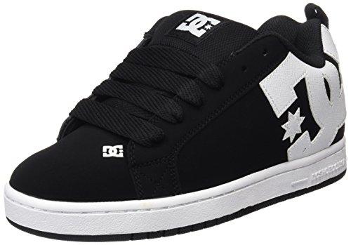 DC Shoes Herren COURT GRAFFIK Low-Top, Schwarz (Black-001), 47 EU