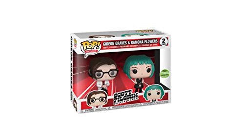 Funko Pop Movies Scott Pilgrim vs. the World Gideon Graves Ramona Flowers Vinyl Figure 2-Pack LE 4000