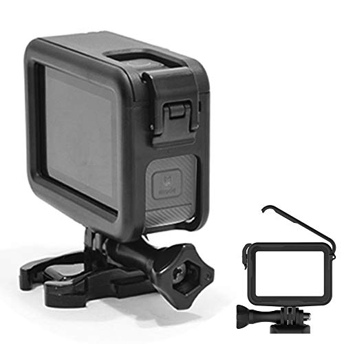 Protective Housing Frame Shell Mount Accessory for Hero 8 Black with Quick Movable Socket and Screw Walmeck