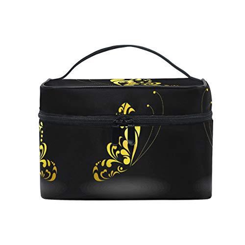 Papillon De Rêve Sombre Trousse de Maquillage Femmes Voyage Sac à Cosmétique Cas Trousse de Toilette Bag