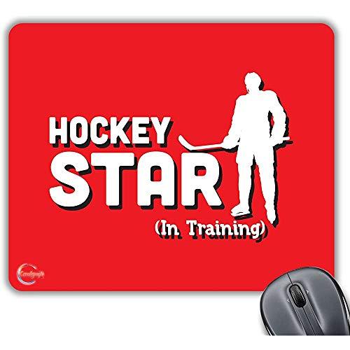 Hockey Start (In Training) Neuheit Geschenk gedruckt PC Laptop Computer Mouse Mat Pad