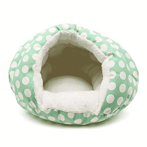 Polka Dot Hamburger Bed Teddy Hond Bed Huisdier benodigdheden Dagelijkse benodigdheden Tent luifel Cat Bed WHLONG