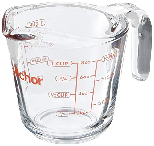 Anchor Hocking - 8 oz Measuring Cup (2 Pack)