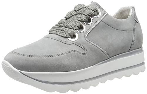 Gabor Damen Casual 24.411. Sneaker, Grau (Grau/Silber 19), 39 EU