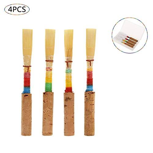 Anche Reed Force Medium Ruiter Reserveonderdelen Accessoires Windinstrument met opbergdoos kunststof 4 stuks