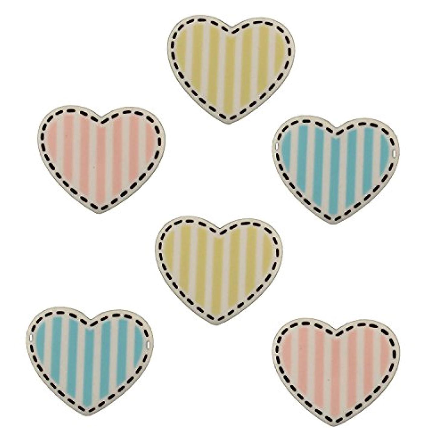 BaZooples Buttons-Heart Medley