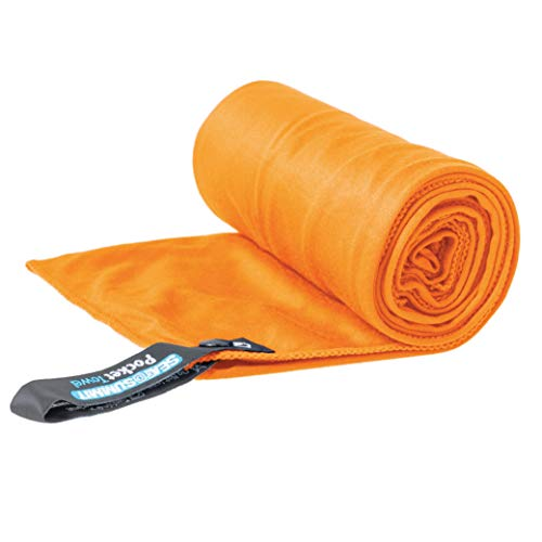 Sea to Summit Pocket Towel, Orange, Large