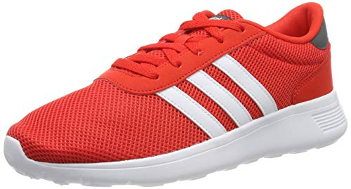 adidas Men's Lite Racer Running Shoes, Red (Active Red/FTWR White/Grey Five Active Red/FTWR White/Grey Five), 6 UK