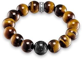 Thomas Sabo - Bracelet - Argent Sterling 925 - Œil de Tigre