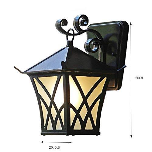 Applique De Patio Imperméable Rétro Créatif Lampe Extérieure Lampe De Mur Allée Balcon Ingénierie Lumière 205 * 28 * 185 Cm,Lumière