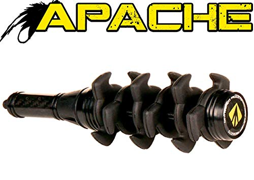 New Archery Products NAP Black Apache Stabilizer 5 Inch Stealth Dampening