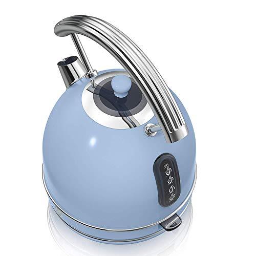 Swan Retro 1.8 Litre Dome Kettle Fast Boil 3KW - Blue